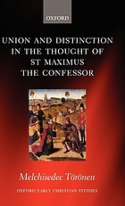 Union and distinction in the thought of St.-Maximus the confessor.
