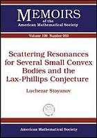 Scattering resonances for several small convex bodies and the Lax-Phillips conjecture