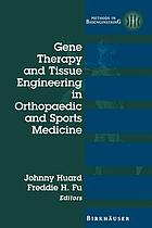 Gene Therapy and Tissue Engineering in Orthopaedic and Sports Medicine