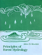 Principles of forest hydrology