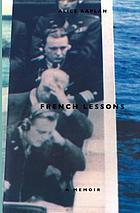 French lessons : a memoir