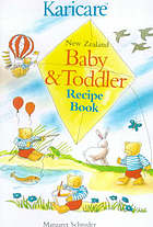 New Zealand baby & toddler recipe book