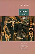 Islands and exiles : the creole identities of post/colonial literature
