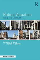 Rating Valuation : Principles and Practice.