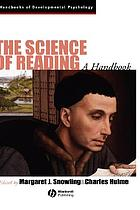 The science of reading : a handbook