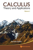 Calculus. Vol. 1, Theory and applications