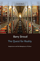 The quest for reality : subjectivism and the metaphysics of colour