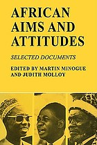 African aims & attitudes : selected documents
