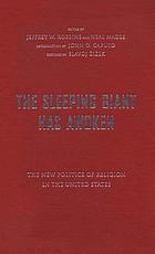 The sleeping giant has awoken : the new politics of religion in the United States