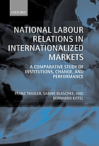 National labour relations in internationalized markets