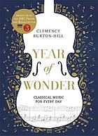 Year of wonder : classical music for every day