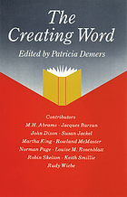 The creating word : papers from an international conference on the learning and teaching of English in the 1980s