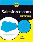 Salesforce for dummies course. Choosing a Salesforce account list view