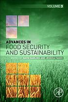 Advances in food security and sustainability. Volume three