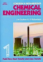 Coulson Richardson S Chemical Engineering Volume 6 Chemical Engineering Design Book 1996 Worldcat Org