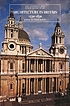 Architecture in Britain, 1530 to 1830 by John Summerson