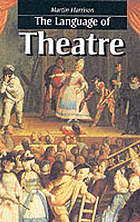 cover of The Language of Theatre