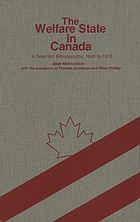 The welfare state in Canada : a selected bibliography, 1840 to 1978