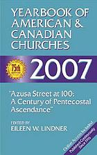 Yearbook of American & Canadian churches, 2007