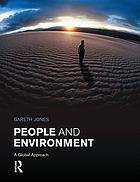 People and Environment : a Global Approach.