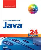 Sams teach yourself Java in 24 hours front cover