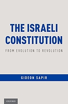The Israeli constitution : from evolution to revolution