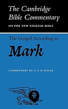 The Cambridge Bible commentary on the New English Bible. N.T.