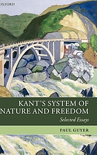 Kant's system of nature and freedom : selected essays
