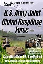 U.s. army joint global response force (combat commander's edition).