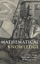 Mathematical knowledge