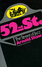 52nd Street : the street of jazz