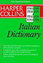 Collins English-Italian, Italian-English dictionary
