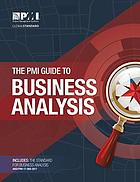 The PMI guide to business analysis.