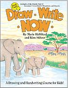 Draw, write, now : a drawing and handwriting course for kids