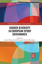 Gender diversity in European sport governance