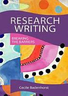 Research writing breaking the barriers