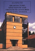 Architecture: nineteenth and twentieth centuries