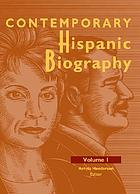 Contemporary hispanic biography. Volume 1