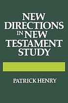 New directions in New Testament study.