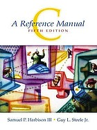 C, a reference manual