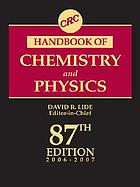 CRC handbook of chemistry and physics, 2006-2007