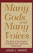 Many gods and many voices : the role of the prophet in English and American modernism
