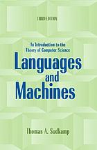 Languages and machines : an introduction to the theory of computer science