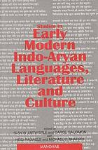 Studies in early modern Indo-Aryan languages, literature and culture : research papers, 1992-1994, presented at the Sixth Conference on Devotional Literature in New Indo-Aryan Languages, held at Seattle, University of Washington, 7-9 July 1994