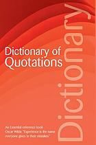 The Wordsworth dictionary of quotations