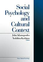 Social psychology and cultural context