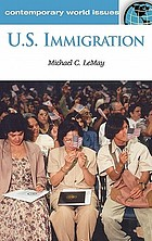 US immigration : a reference handbook