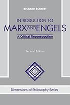 Introduction to Marx and Engels : a critical reconstruction