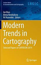 Modern trends in cartography : selected papers of CARTOCON 2014