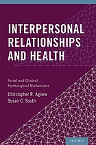 Interpersonal relationships and health : social and clinical psychological mechanisms